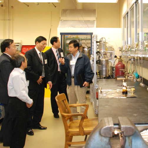 Tour of EMS Energy Institute Labs